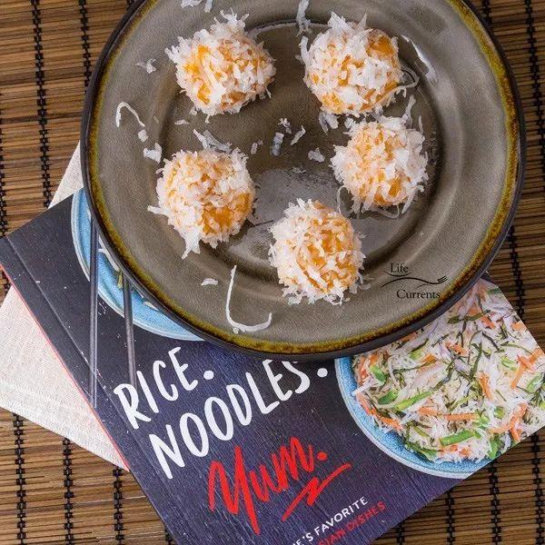 Sweet Potato Rice Balls - Life Currents cookbook review ...
