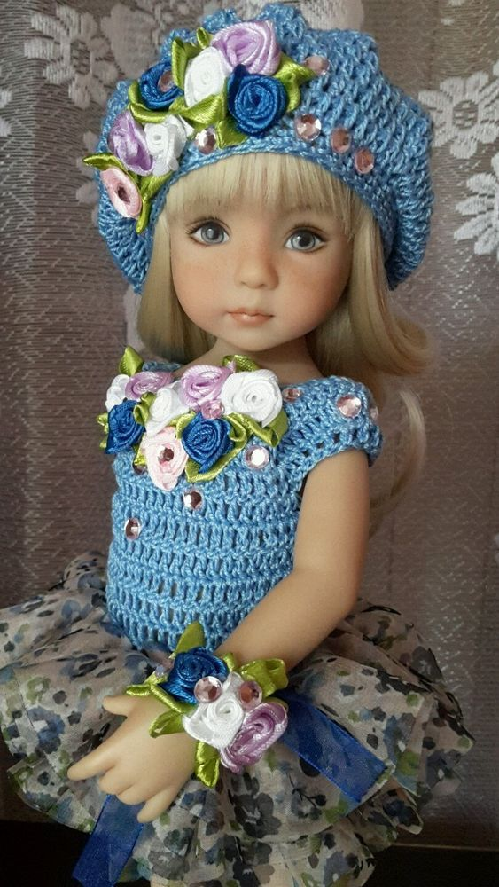 """Outfit for doll 13"""" Dianna Effner Little Darling hand made #DiannaEffner"""
