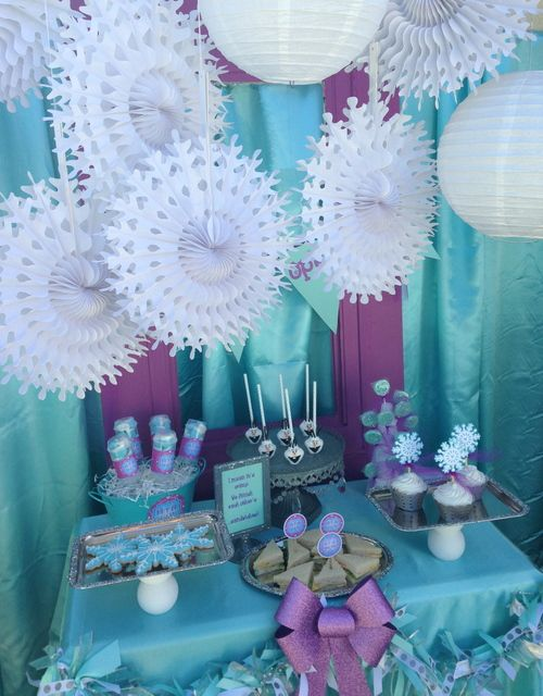102 Best Frozen Theme Birthday Party Ideas Images On Pinterest