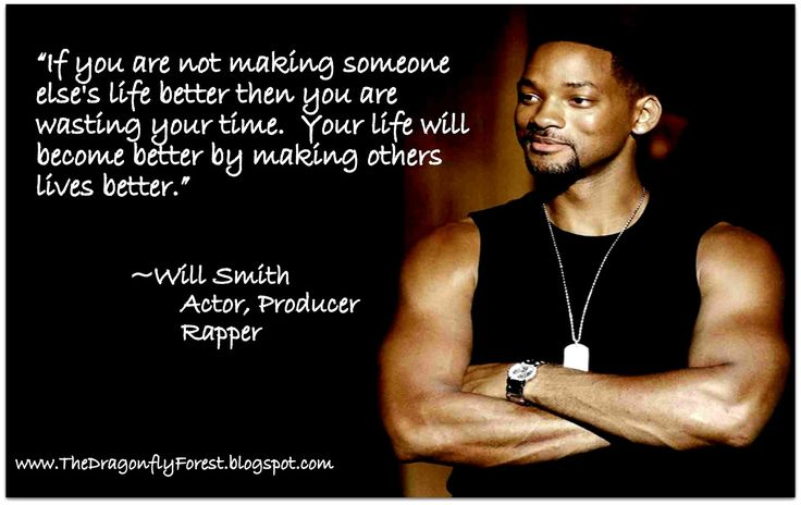 your words and thoughts have physical power will smith