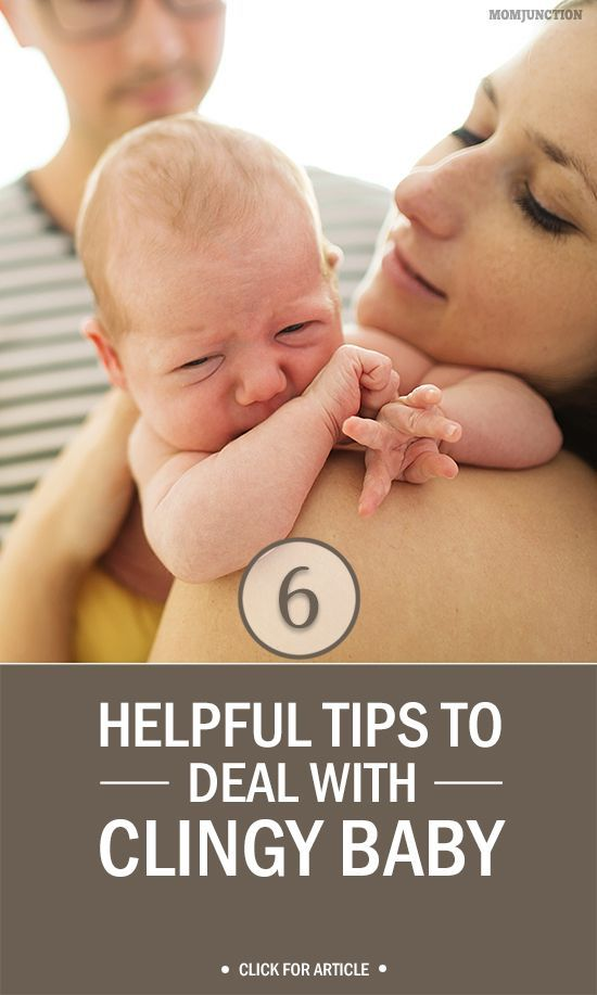 Clingy #Baby : If you find your baby gets too upset when you are not around, or needs constant reassurance, here are a few tips that might come in handy. #Parenting