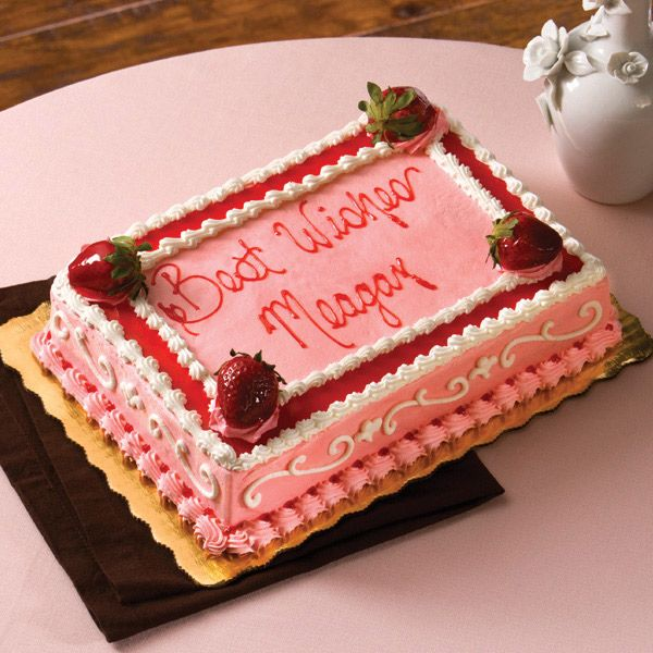 Design Your Own Cake At Publix : Strawberry Blast my new favorite cake from PUBLIX anyone ...