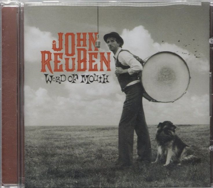 Word of Mouth by John Reuben (CD, Feb-2007, Gotee) New Sealed  #Christian