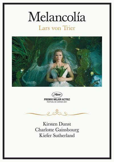 Melancolía (2011) Dinamarca. Dir.:Lars Von Trier. Ciencia ficción. Drama. Enfermidade - DVD CINE 2206