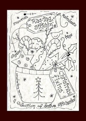 Christmas Fixins - a Collection of Festive Stitcheries from Michelle Ridgway - Rag Tag Stitchin