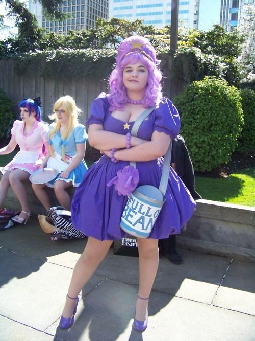oh my glob! lumpy space princess costume :)
