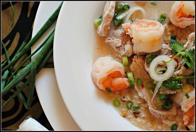 Thai Shrimp Soup with Lemon and Jalapeños although I would take out ...