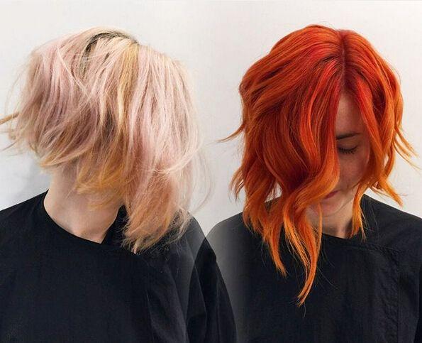 26 Impresionantes Ideas Nueva Red Color de cabello
