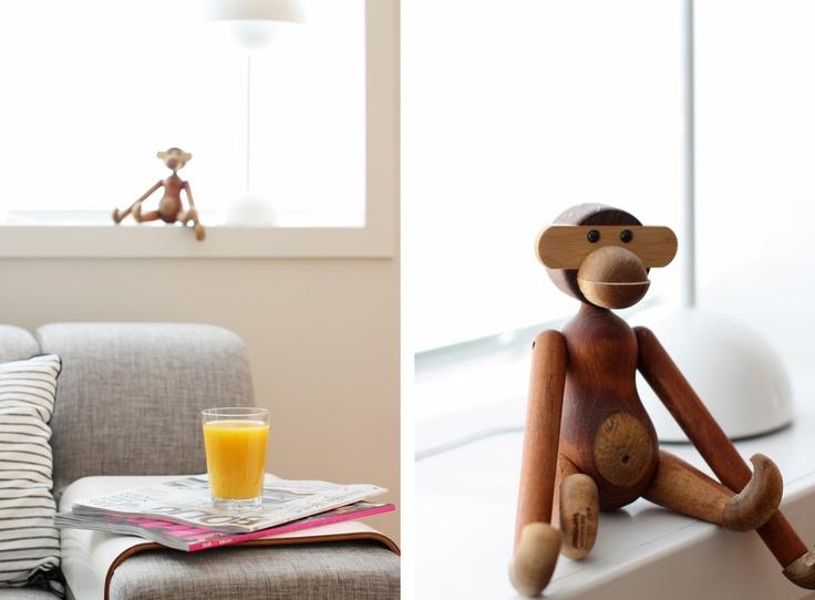 Kay Bojesen's Monkey - Høytrykk