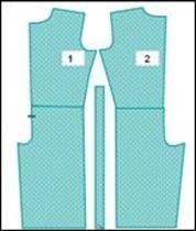 Как вшить в брюки гипюровые лампасы