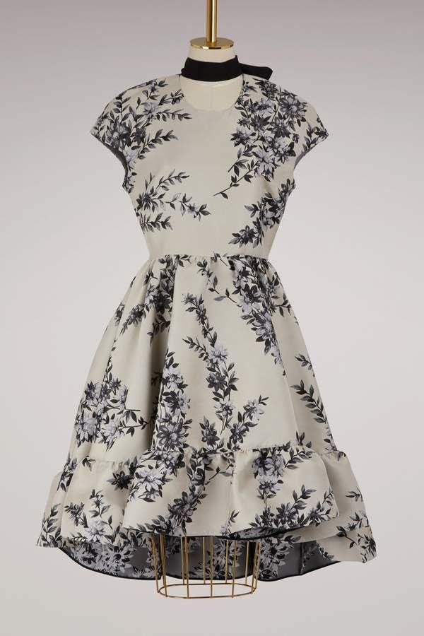 afilia 3 vestidos manga Vestido de tamaños corta clasificado disponibles Fendi 7gzwqPz