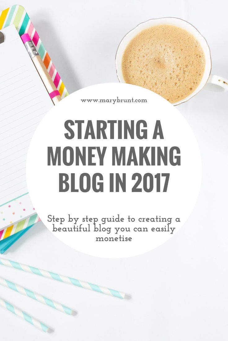 Creating a Money Making Blog in 2017