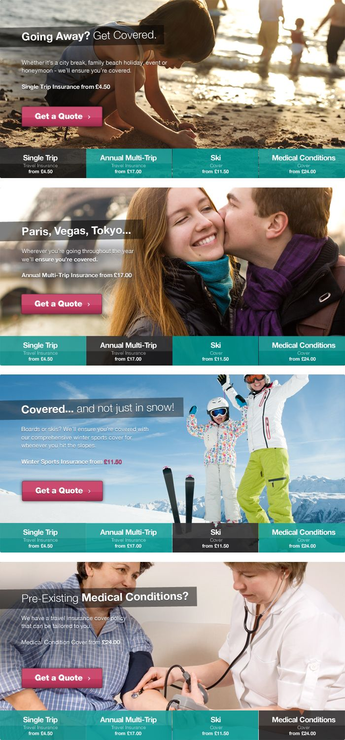 cover for you - travel insurance website