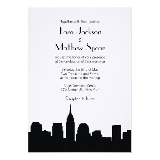 205 Best Images About New York Wedding Invitations On