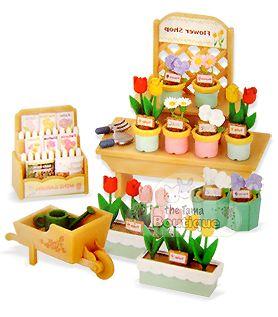Sylvanian Families Calico Critters Flower Shop