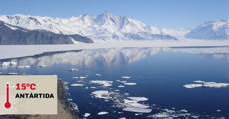 VANDA STATION (ANTÁRTIDA), 15°C: Foi nessa antiga base de pesquisa na Antártida que os termômetros marcaram a maior temperatura já registrada no continente gelado. A marca foi alcançada em 1º de maio de 1974. A Vanda Station só abria durante a temporada de verão e funcionou até 1991