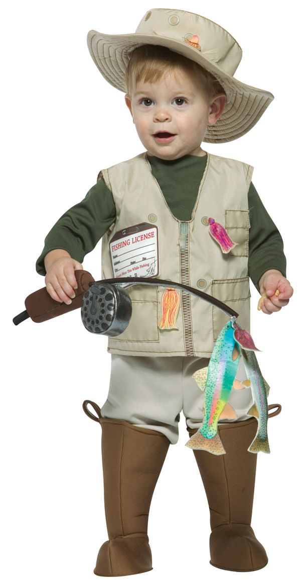Future Fisherman Toddler Costume | Costume Craze