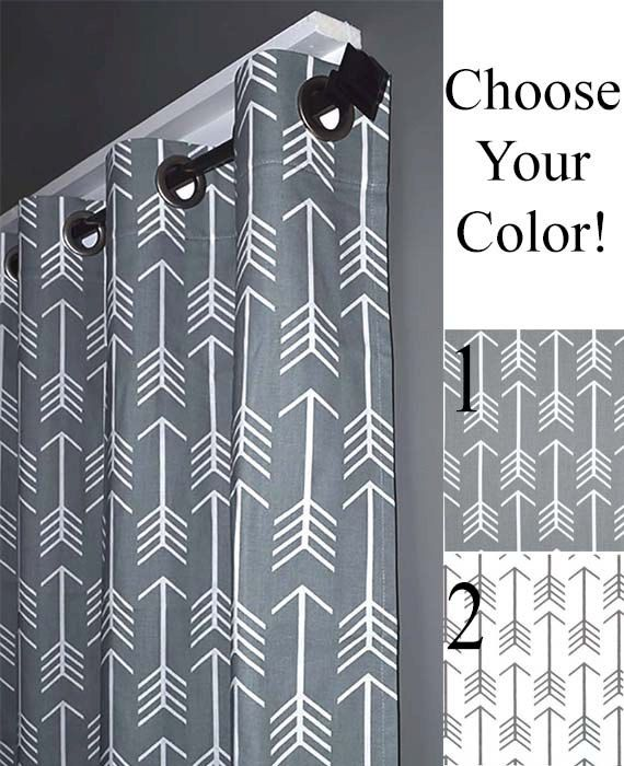 Hey, I found this really awesome Etsy listing at https://www.etsy.com/uk/listing/220547765/blackout-lined-arrow-grommet-curtains