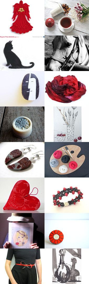 ♥♥ VALENTINE ♥♥ by Paola Fornasier on Etsy--Pinned with TreasuryPin.com