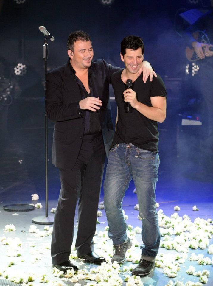 with Sakis Rouvas