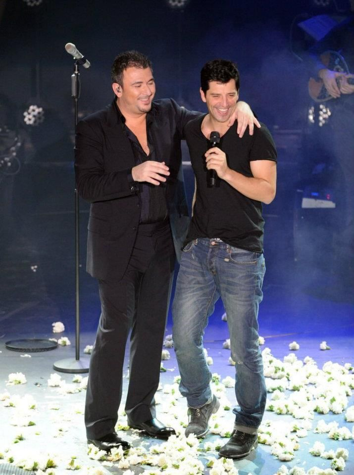 with Sakis Rouvas