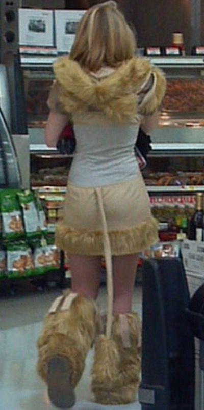 Fluffies and Furry Leg Warmers at Walmart - Funny Pictures at Walmart