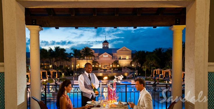 Dinner for Two... | Sandals Resorts | The Bahamas