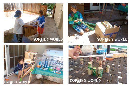 Cardboard arcade game ideas