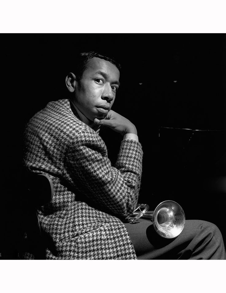 Lee Morgan.During the recording session for Joe Henderson's Mode for Joe album. RVG studio ,1966    © Francis Wolff