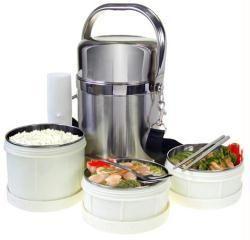 Family Lunch Box adalah tempat makan yang terbuat dari bahan berkualitas tinggi, menggunakan teknologi kedap udara dan tidak mudah pecah, berbahan stainless steel. Penutup atas akan menjaga makanan tetap hangat dan segar. Teknologi vakum memungkinkan...