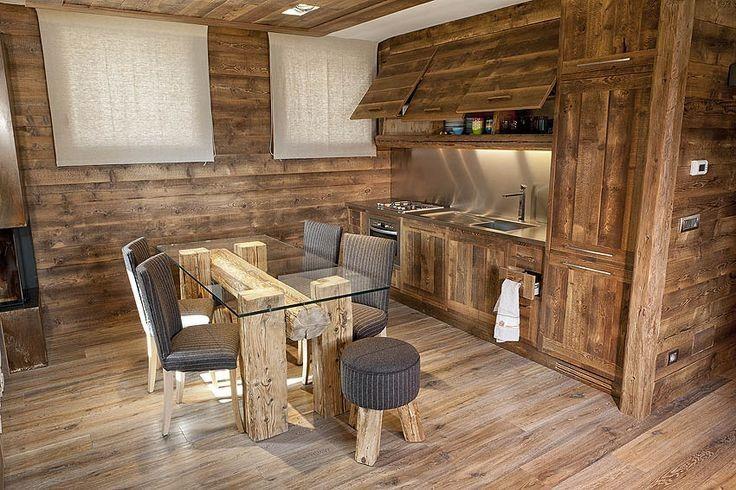 17 migliori idee su case di montagna su pinterest lake for Case in stile ranch in stile log cabin