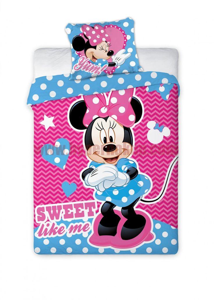 Detské bavlnené obliečky Disney Minnie Mouse 100x135 cm