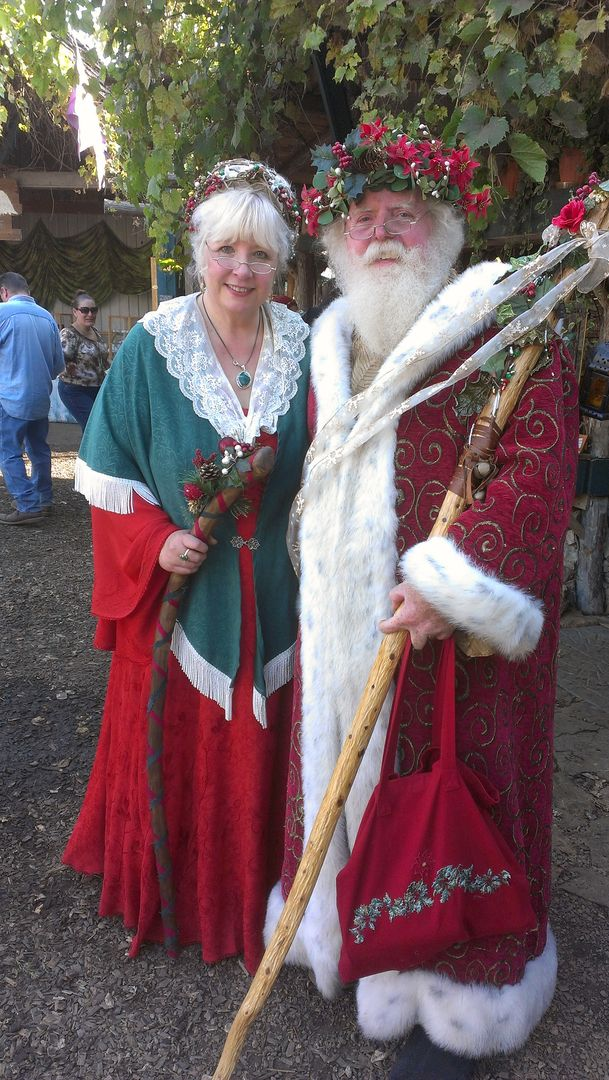 Exceptional costumes used by Santa Carlucci and Cheryl Claus for Santa Claus, Mrs Claus, Father Christmas, Mother Christmas and more. Red velvet suits, boots, vests, festive shirts and dresses, and decorative hats are options for your holiday event or visit in Minneapolis / St Paul.