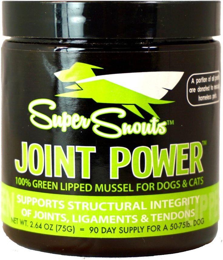 Super Snouts Joint Power Green Lipped Mussel Dog & Cat Supplement is a powerful, unique joint supplement composed of 100% New Zealand green lipped mussels. Stabilized, freeze-dried green lipped mussels have shown extremely positive results in clinical trials for pets. That's because they provide a rich source of all major classes of glycosaminoglycans, compounds responsible for natural anti-inflammatory, and joint-lubricating, properties. In addition, green lipped mussel extract contains ...