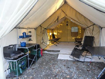 Cabin Tent Rentals In Rangeley Maine At Cupsuptic Lake