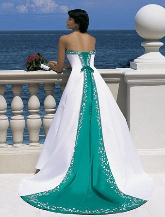 25 best Silver White and Jade Green Weddings images on Pinterest