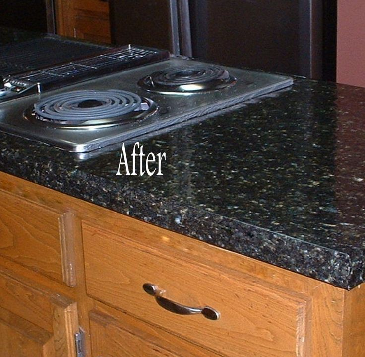 Instant Stainless Counter : Ez faux decor peel and stick films