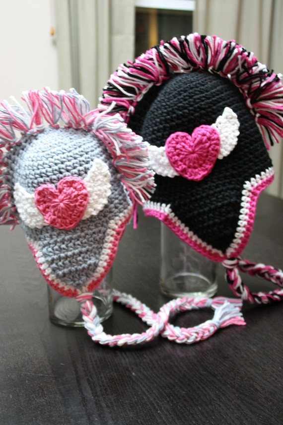 Crochet Mohawk : Mohawk Hat Crochet Pattern, 3 Applique Options, MADDOX - pdf 302 ...