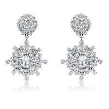 Image result for bridal drop earrings