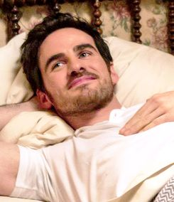 I can't explain how much I love this man. I think of him all the time. Love you Colin, hope you always stay on the show Ouat.