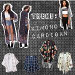 Trend, tendencia: Kimono Cardigan