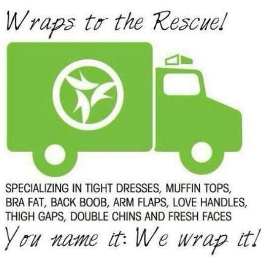 "Have you Tried That Crazy wrap thing? ""It Works!"" https://kimberlydonnell.myitworks.com"