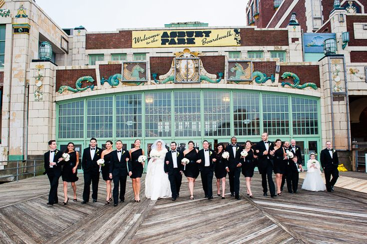 Look at Jenna and Greg's gorgeous Asbury Park wedding!
