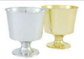 Small Urn, Silver (Pack of 24)