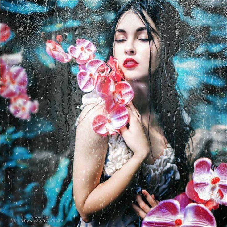 Фото из чудесного Киева Прическа и макияж: Виктория Турок Модель: Ива Басара Foto of miraculous Kiev Hair and make-up : Victoria Turk Model: Iva Basara