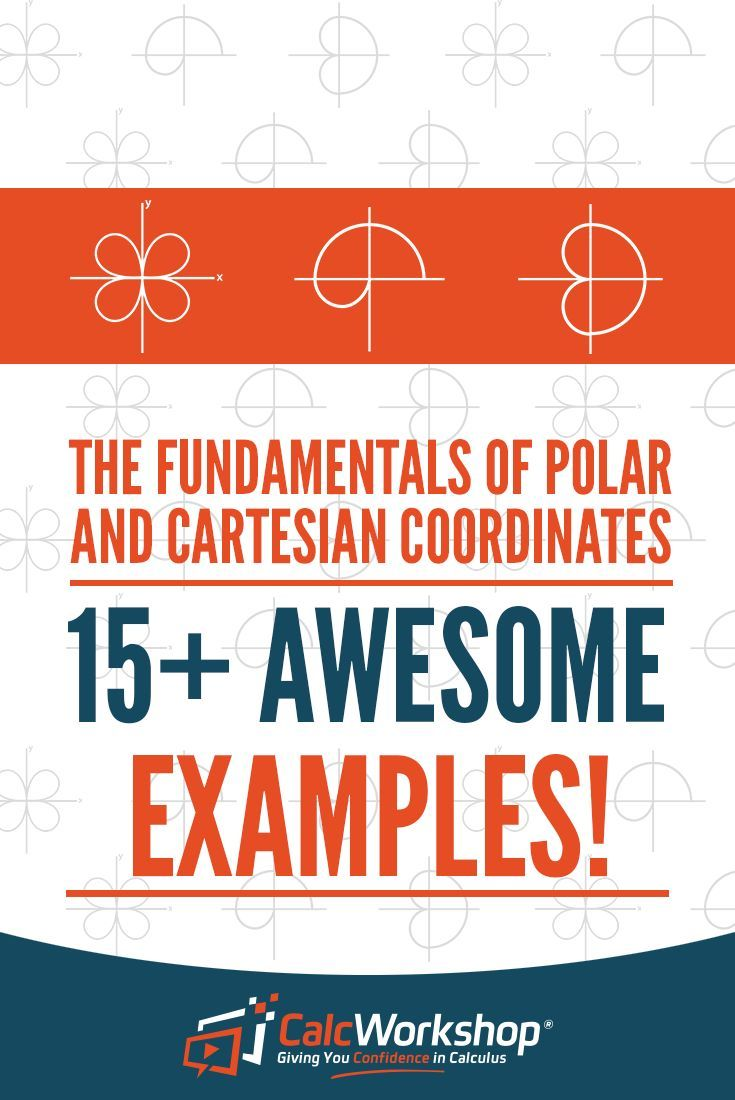 Polar Coordinates - POWERFUL video lesson on converting to and from rectangular (Cartesian) coordinates to polar coordinates.  With 15+ step-by-step examples, you'll have everything you need for your trig class.  Excellent topic for high school and middle school math courses.  Learn how to graph a polar coordinate and use coterminal angles to give multiple representations for each polar coordinate, and convert rectangular coordinates and equations to polar and vice-versa. #algebra #teaching