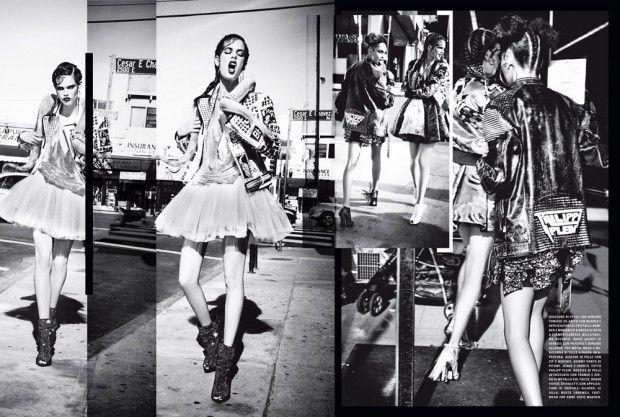 Фотосессия Эллен фон Унверт в Vogue Italia (Интернет-журнал ETODAY)