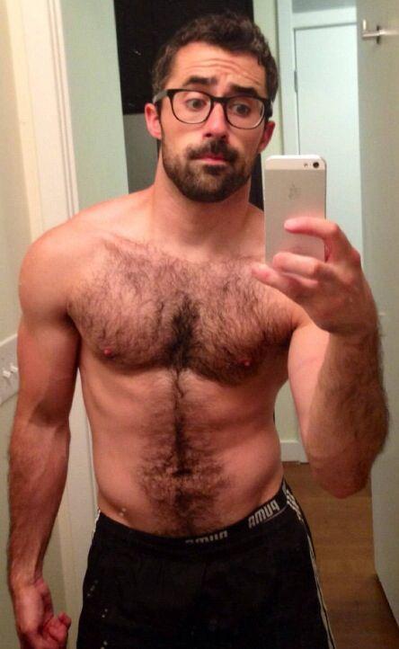 hot hairy nude man