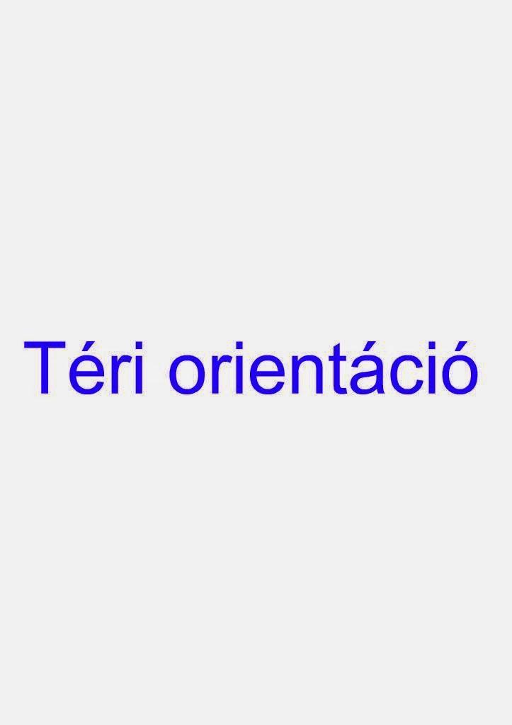 Marci fejlesztő és kreatív oldala: Téri orientáció