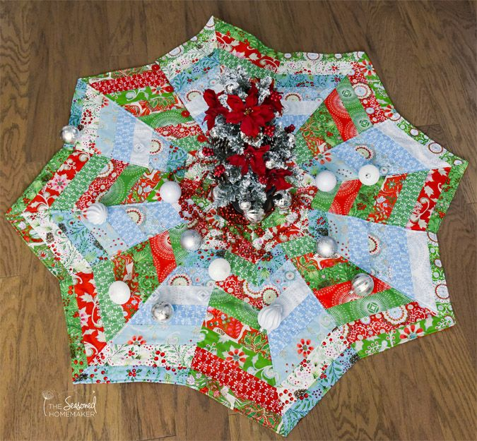 Quilted Christmas Tree Skirt Patterns: How To Make A Christmas Tree Skirt You Will Love